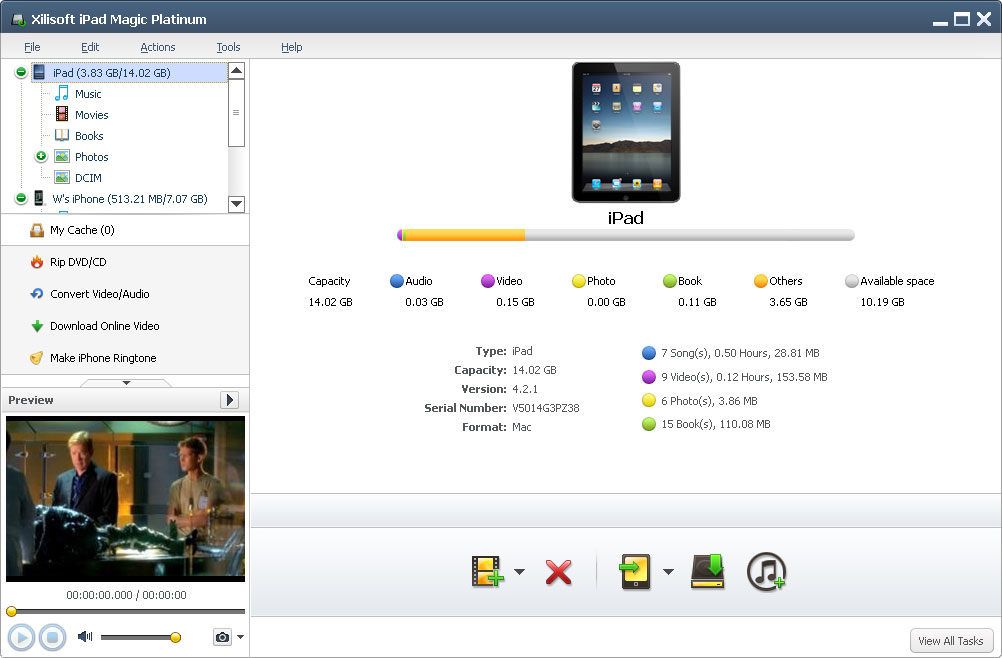 put videos to ipad with xilisoft video converter